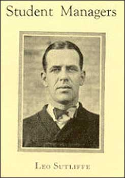 Leo Sutliffe, 1924 student manager, who travelled with the team to Pasadena.