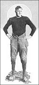 Charlie Glueckert, from the 1924 Dome.