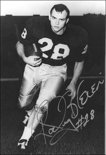 Publicity still of a young Rocky Bleier.