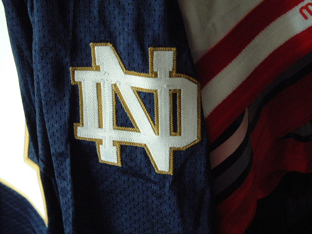 new style 89cdf cdc1e Tim Brown signed Notre Dame Jersey
